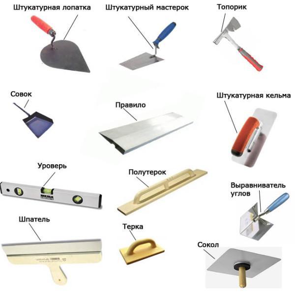 Инструменты для корректировки