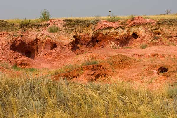 Глина и песок