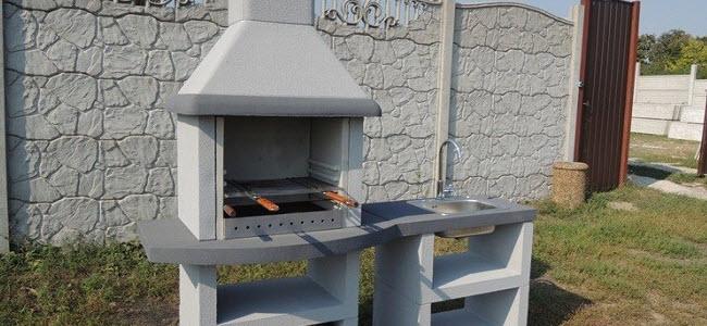 Бетон барбекю бетонные смеси применяемые добавки