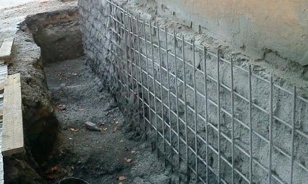 Бандаж из бетона