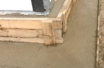 Подливка бетона