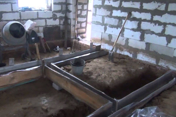 нужен ли фундамент под перегородки из газобетона