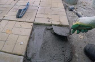 Цемент для плитки